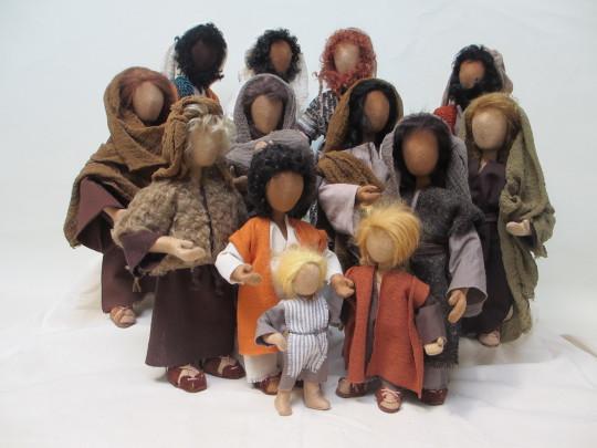 Biblische Erzählfiguren alle Größen ohne Baby